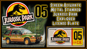 JP 05 prop plate movie memorabilia from Jurassic Park starring Gerald R. Molen