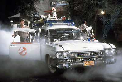 Metal Stamped License Plate Celebrity Machines Ghostbusters ECTO-1 Afterlife