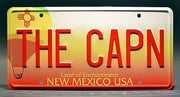 THE CAPN prop plate television memorabilia from Breaking Bad starring Aaron Paul