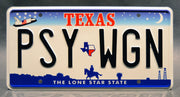 Replica metal stamped Texas license plate garage decor from Kill Bill: Volume 1 starring Vivica A. Fox