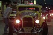 THX 138 license plate on John Milner's 1932 Ford Deuce Coupe from American Graffiti