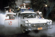 ECTO-1A license plate on the '59 Cadillac Hearse from Ghostbusters 2