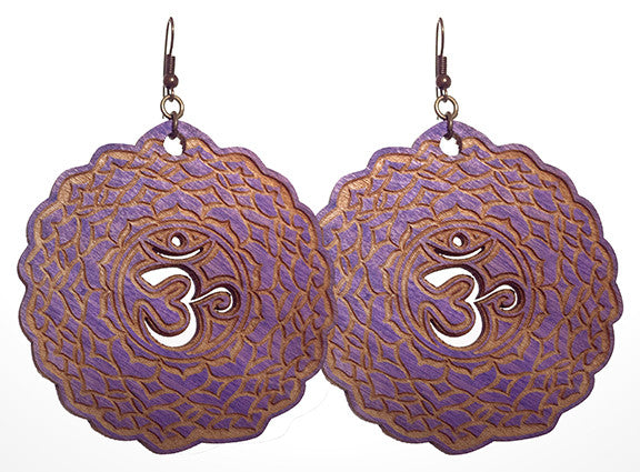 Crown Chakra (Sahasrara) Earrings