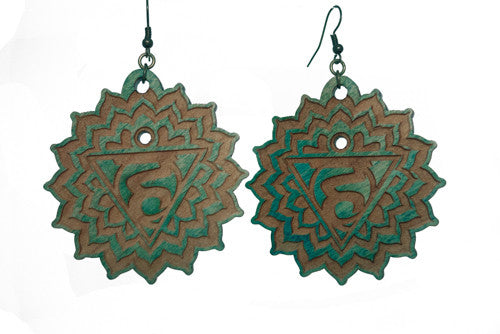 Throat Chakra (Vishuddha) Earrings