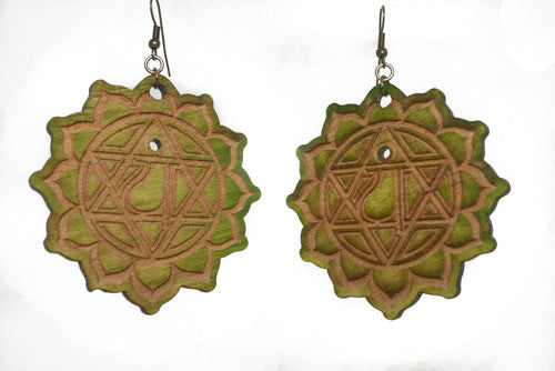 Heart Chakra (Anahata) Earrings