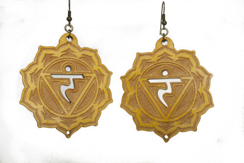 Solar Plexus Chakra (Manipura) Earrings