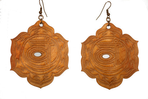 Sacral Chakra (Svadhishthana) Earrings