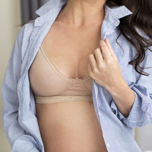 Breastfeeding Bra - For late pregnancy and throughout breastfeeding