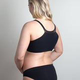 Pregnancy Crop Top Bra - Soft, gentle support for early pregnancy; ideal for sleeping