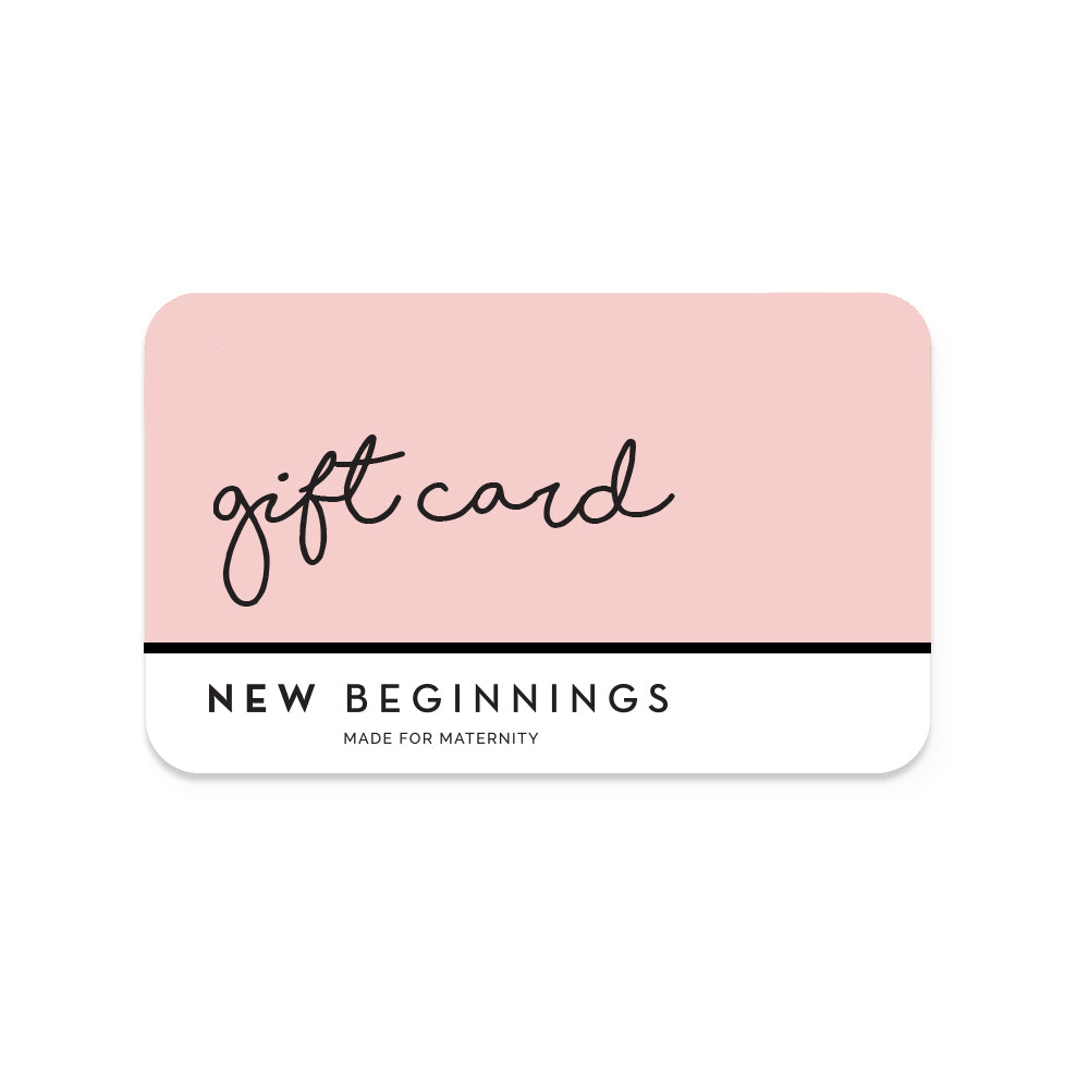 New Beginnings Gift Card