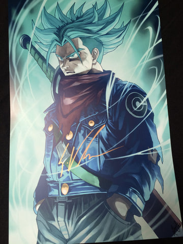 Blue Aura of a God [Autographed]