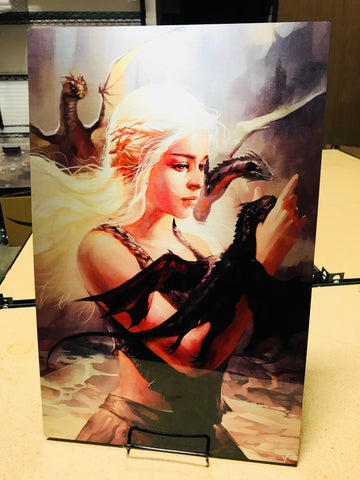 Mother of Dragons [Metal Print]