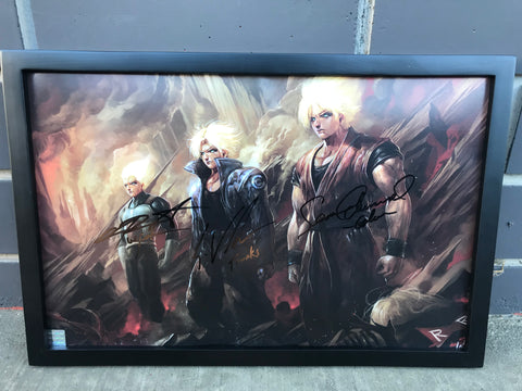 The Unbreakable Wall [Triple Autographed]