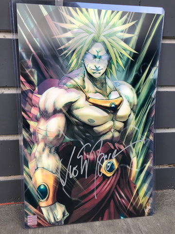 3D Transition [Calm to Legend] Lenticular Print [Autographed]