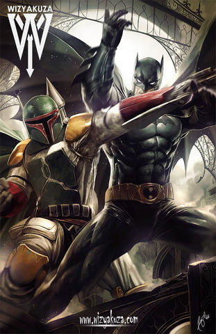 The Bat vs. The Fett