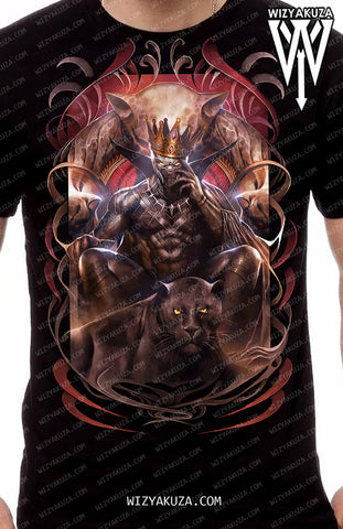 Wizyakuza.com Exclusive - King of the Jungle - Men's Apparel