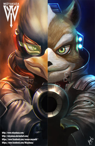 Falco/Star Fox Split