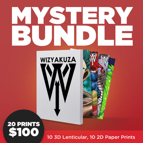 WIZYAKUZA ARTWORK - MYSTERY PRINT BUNDLE [2019 BLACK FRIDAY]