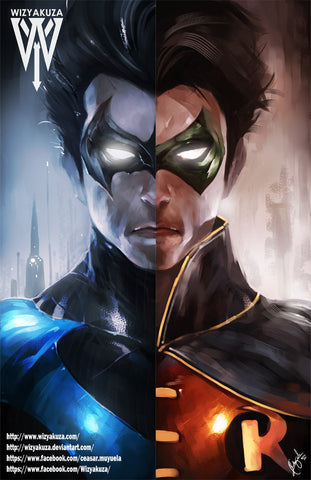 Robin/Nightwing Split