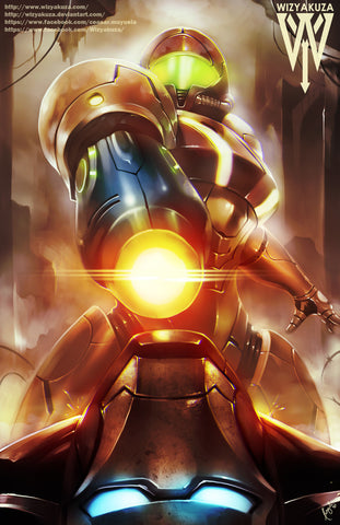 Samus vs. Iron Man