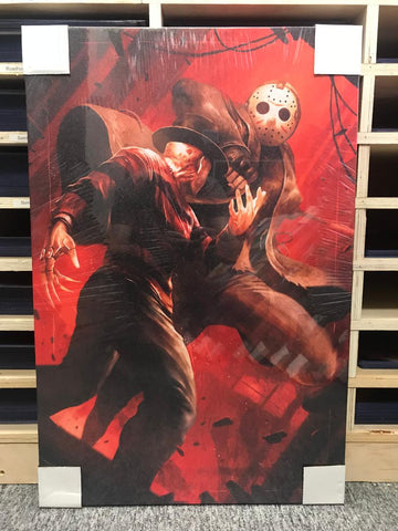 Jason vs. Freddy [Canvas]