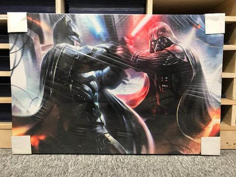 Bat vs. Sith [Canvas]