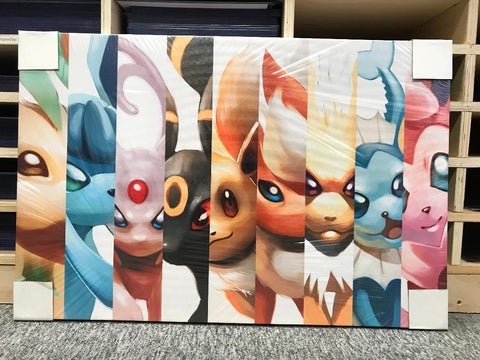 Many Evolutions Split [Canvas]