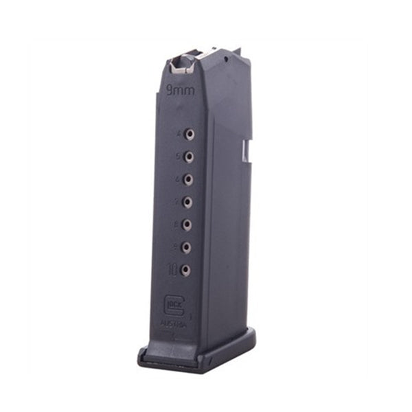 Factory Glock Magazine G19 9mm 10 Round