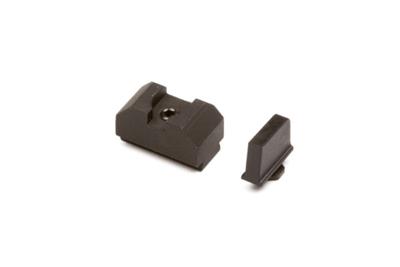 ZEV TECHNOLOGIES SIGHT SET, .215 BLACK FRONT, CO-WITNESS BLACK REAR