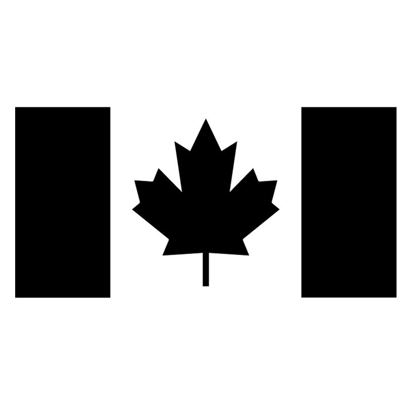 Vinyl Decal - Canada Flag Large