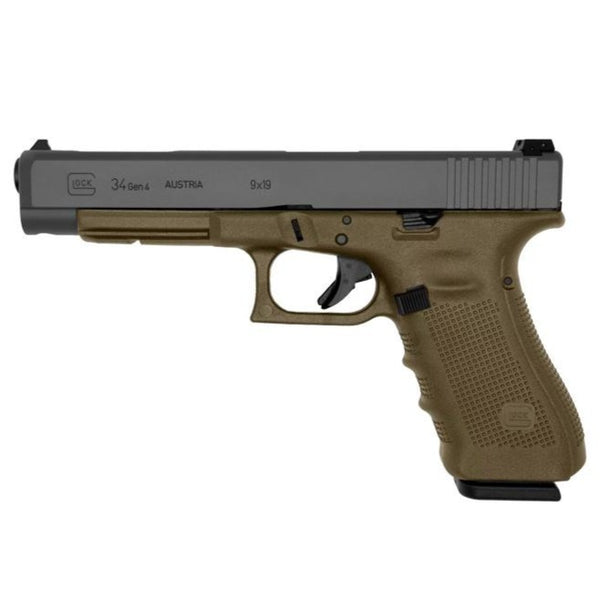 Glock 34 Gen 4 Flat Dark Earth