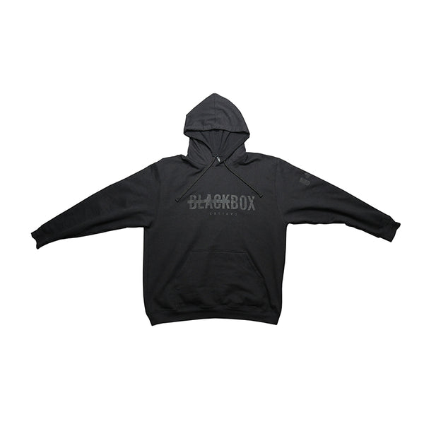 Black Box Customs Hoodie Black