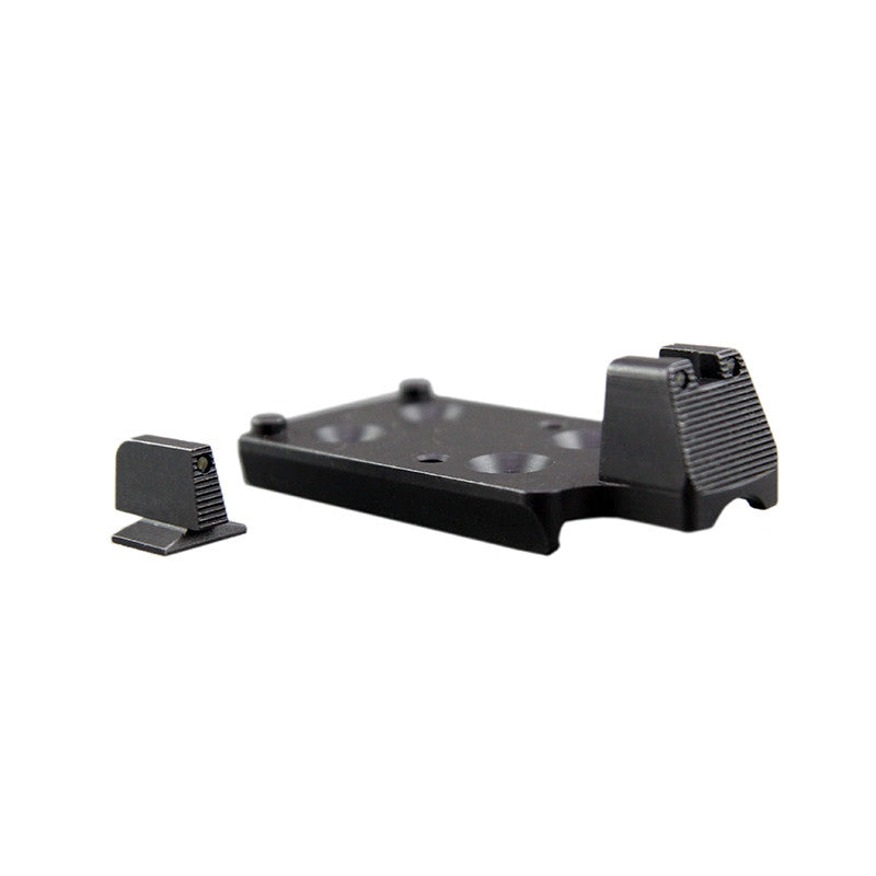 Trijicon 1911 RMR Mount<br/>w/ Integrated Night Sight Set