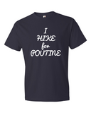 Men's Short Sleeve Tee- I Hike For Poutine - Rocky Mountain High Est. 2015  - 3