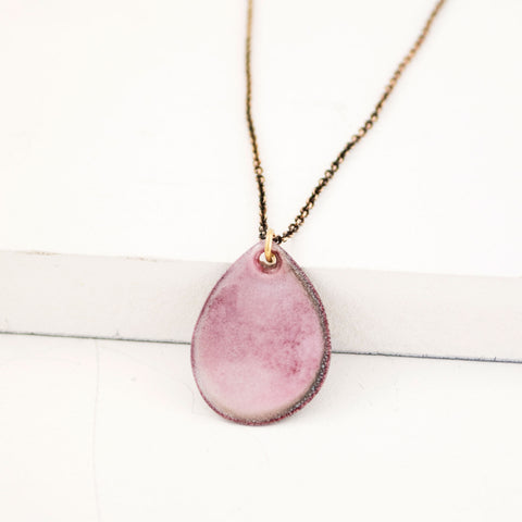 Light pink necklace
