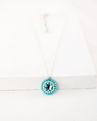 Exquistry turquoise necklace