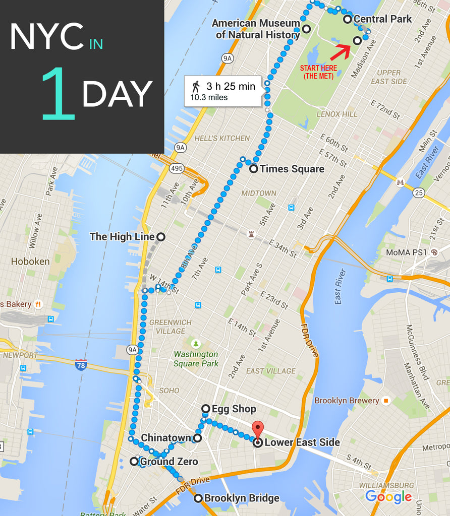 NYC in 1 Day - Things to Do in NYC