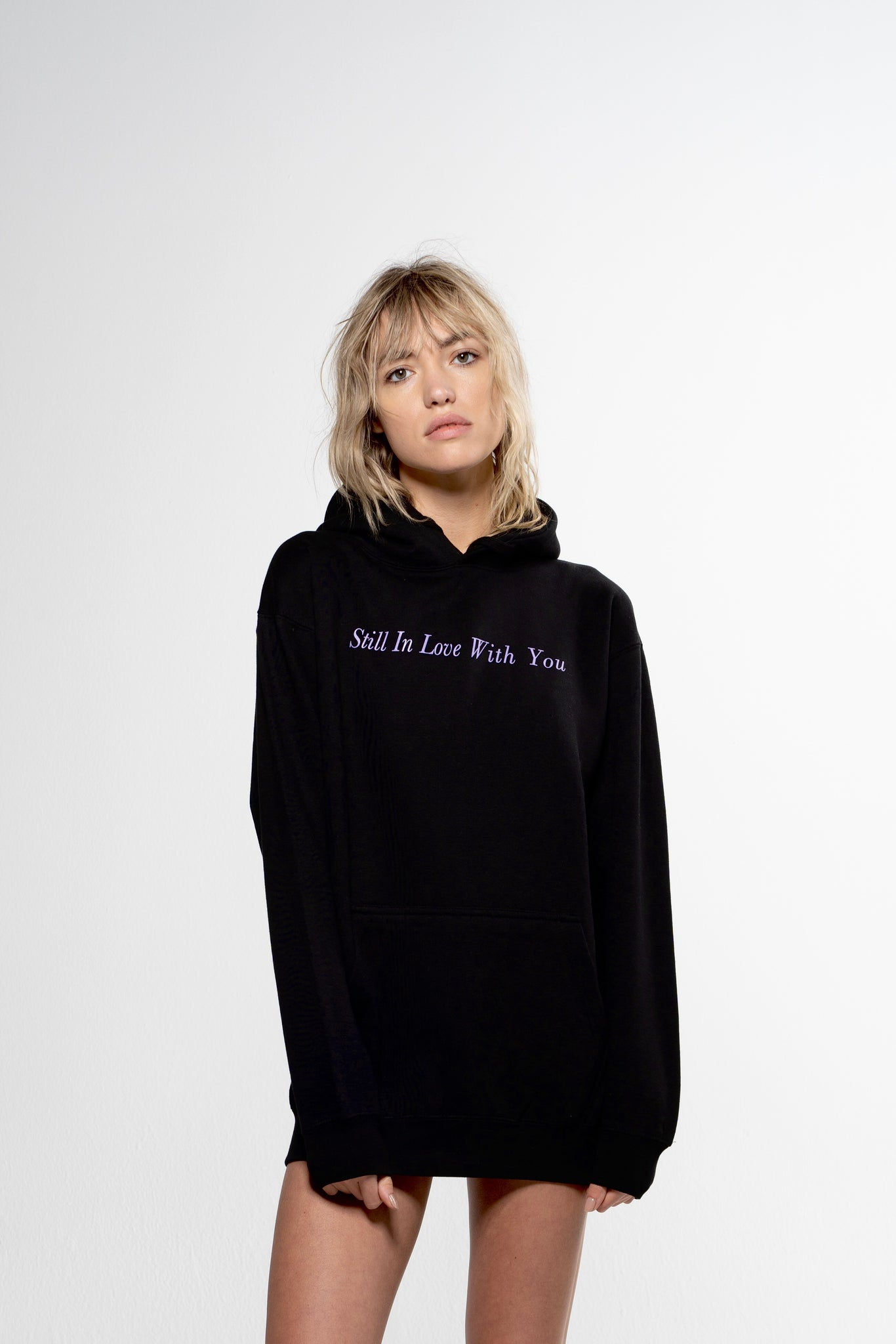 Lavender Still In Love With You Hoodie