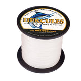 100M 109Yds White 6lb-100lb Hercules PE Braid Fishing Line 4 Strands