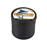 300M 328Yds Black 10lb-300lb Hercules PE Braided Fishing Line 8 Strands