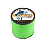 300M 328Yds Fluorescent Green 10lb-300lb Hercules PE braid Fishing Line 8 Strands