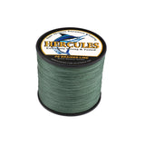 300M 328Yds Green 10lb-300lb Hercules PE Braided Fishing Line 8 Strands