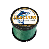 500M 547Yds Green 6lb-100lb Hercules PE Braided Fishing Line 4 Strands
