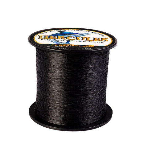 500M 547Yds Black 6lb-100lb Hercules PE Braided Fishing Line 4 Strands