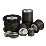 1000M 1094Yds Camouflage Hercules 8 Strands 10lb-300lb PE braid Fishing Line