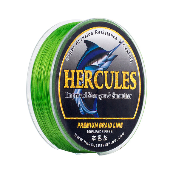 [HERCULES] No Fade Fishing Line Fluorescent Green PE 8 Strands Braided Fishing Line 10LB-120LB Fishing Line Multifilament Fishing Line Sensitive Line 100m 150m 200m 300m 500m 1000m