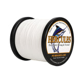 1000M 1094Yds White 6lb-100lb Hercules PE Braided Fishing Line 4 Strands