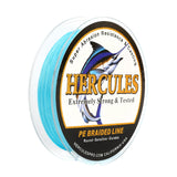 500M 547Yds Blue 6lb-100lb Hercules PE Braid Fishing Line 4 Strands