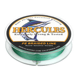1000M 1094Yds Green 10lb-300lb Hercules PE Braided Fishing Line 8 Strands