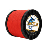 1000M 1094Yds Red 6lb-100lb Hercules PE Braid Fishing Line 4 Strands